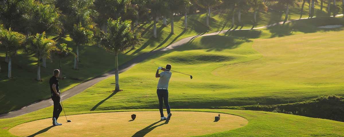 campos de golf de Gran Canaria