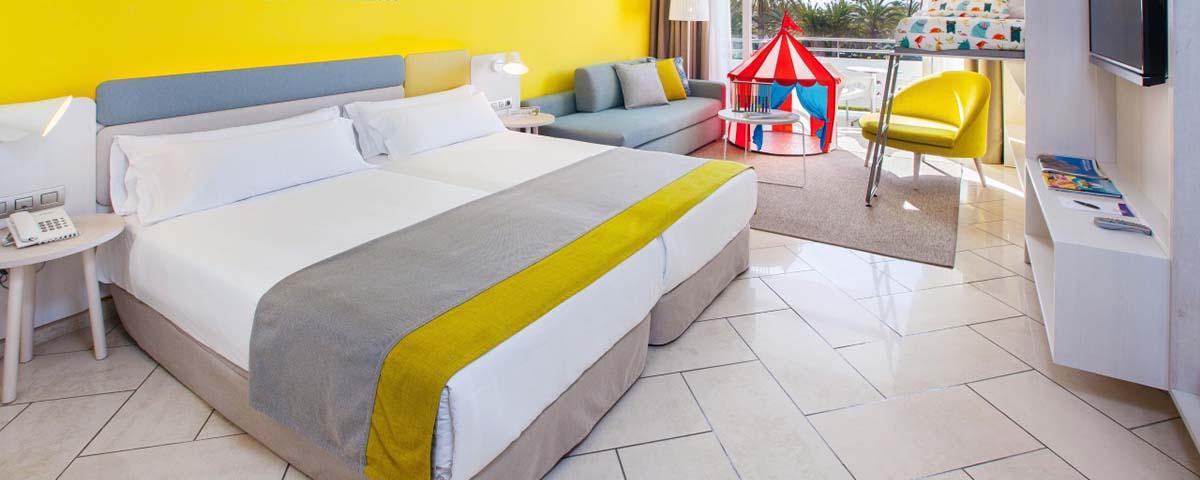 hoteles para niños en Gran Canaria con todo incluido