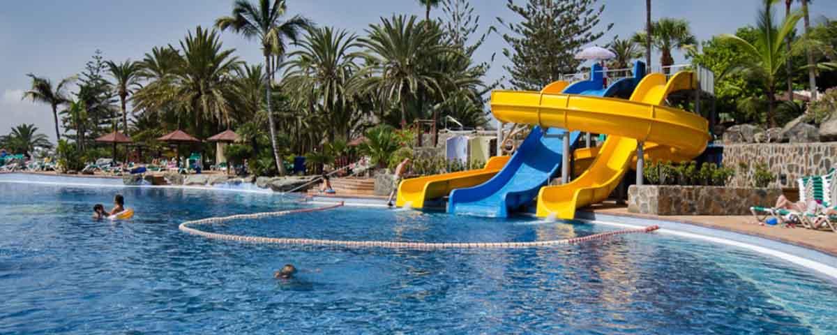 una piscina para niños